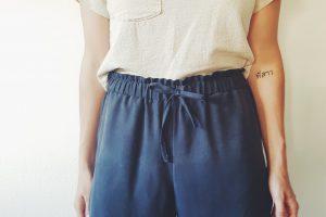 Shorts zu Culotte verlängern